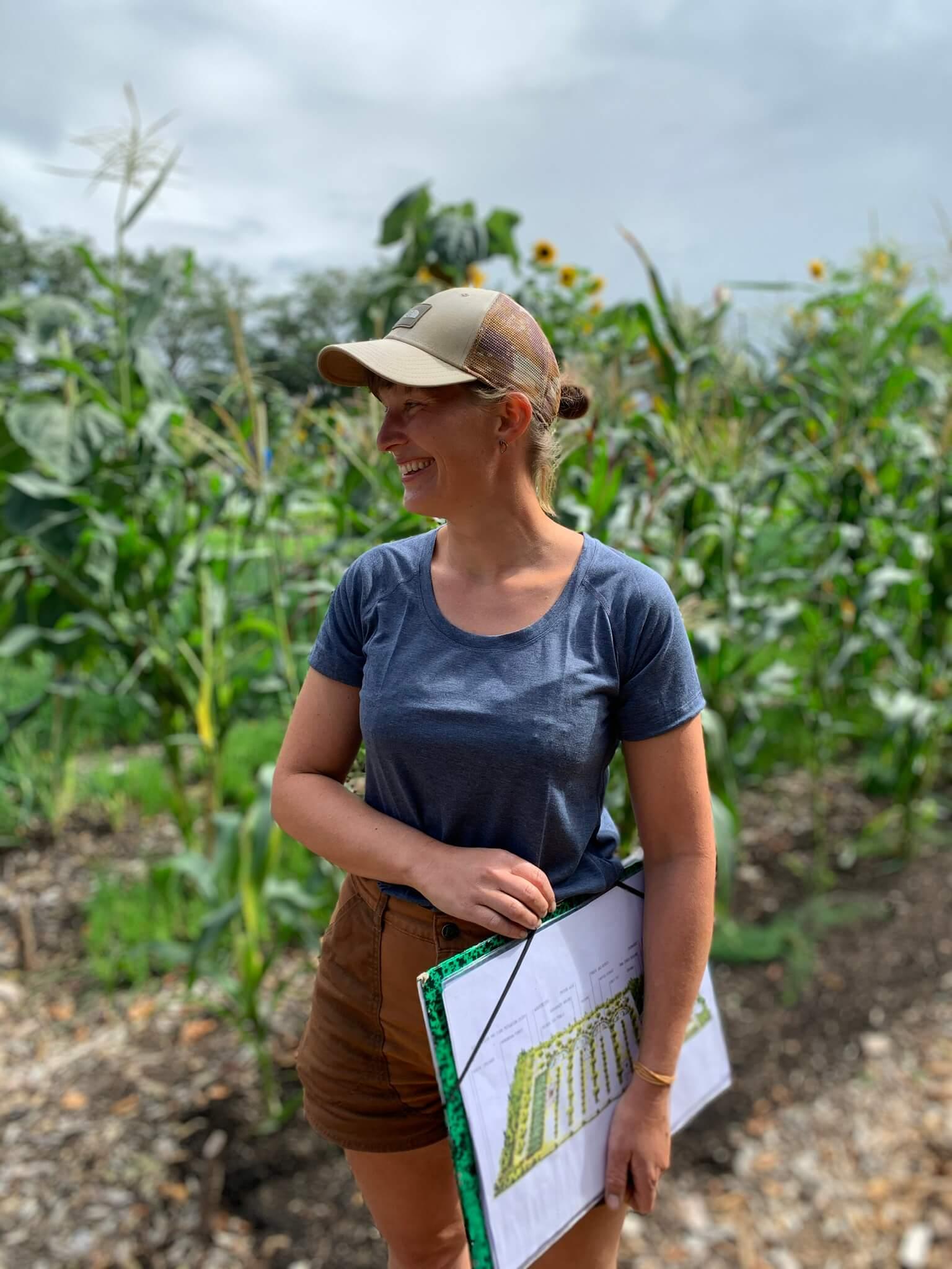 Regenerative farmer Bodemzicht